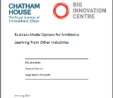 Chatham House Big Innovation research report cover